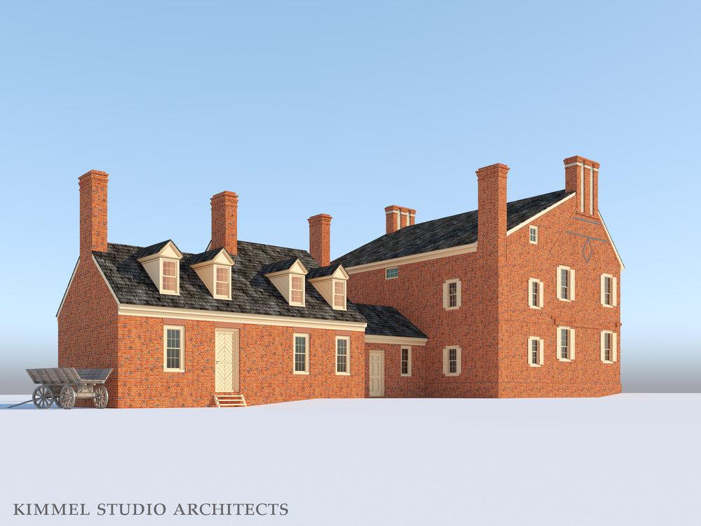 Kimmel Studio Architects - Cloverfields 3D Studies - 1784 Back.jpg