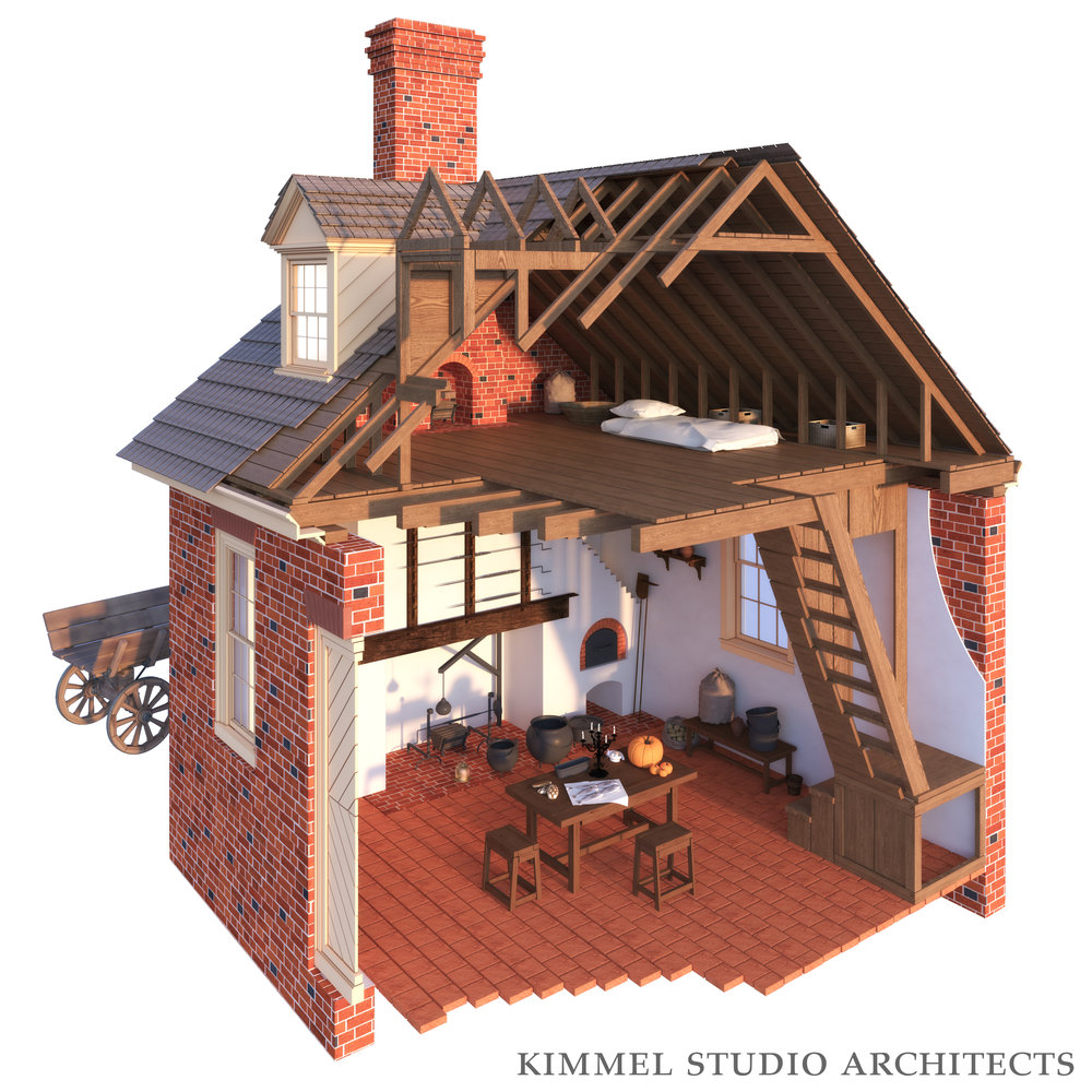 Kimmel Studio Architects - Cloverfields 3D Studies - Kitchen.jpg