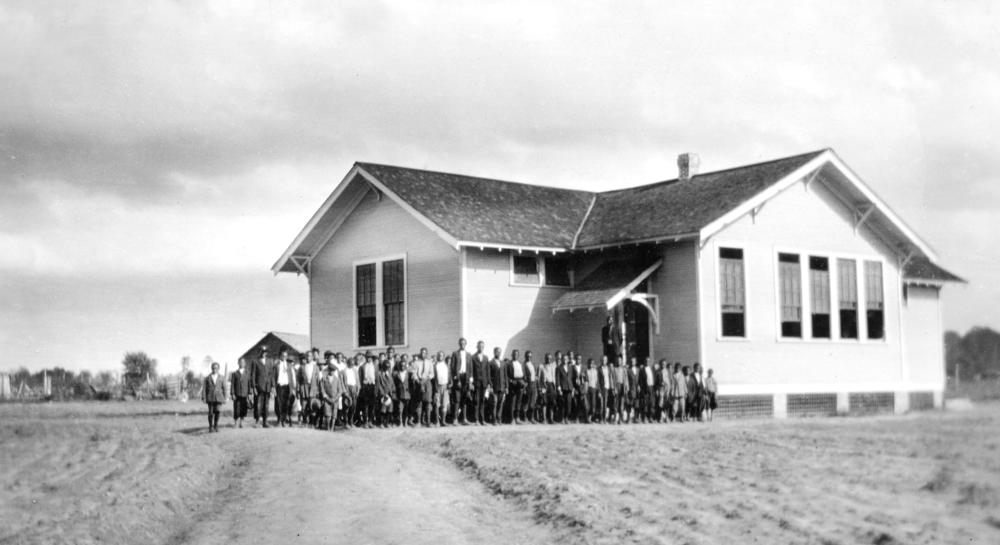 Lomax School, Montgomery County, Alabama. Photo courtesy Fisk University