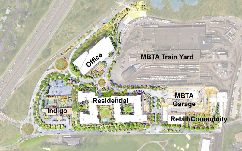 iverside Station, Newton, MA    Transportation Oriented Development   Beginning in 2007, after the acquisition of the abutting Holiday Inn hotel, Mr. Krebs commenced discussions with the MBTA to issue an RFP for the redevelopment of this 1,000-space parking lot at the Riverside MBTA station in Newton, MA. The MBTA issued an RFP in 2009, and at the conclusion of the competitive process, the site was awarded and a long-term lease was signed with the MBTA. In 2010, Mr. Krebs began the permitting process with the City of Newton. After a two and a half year re-zoning and permitting process, the project was approved in 2012 for a 580,000 square foot mixed-use project, including a 290-unit apartment project, a 10-story, 225,000 square foot office building and 25,000 square feet of service retail. This was the largest project ever approved in Newton. Mr. Krebs is current working with the ownership group and the MBTA to commence construction of the MBTA garage and advance the vertical development of this project.