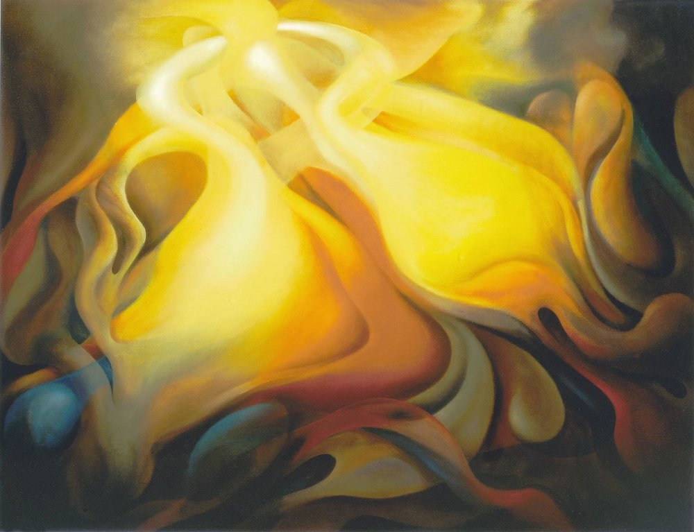 The Transfiguration of Jesus, Armando Alemdar Ara,Private Collection, London,oil on linen