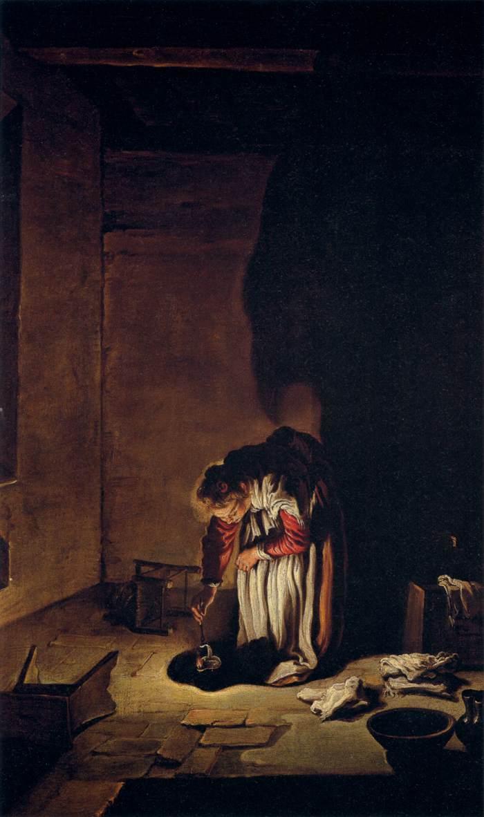 Domenico Fetti (1589–1623), Parable of the Lost Drachma, circa 1618