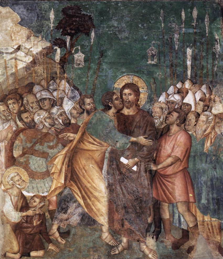 The Arrest of Christ , 1290s  Upper Basilica of San Francesco d'Assisi