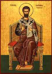 Icon of Saint Barnabas
