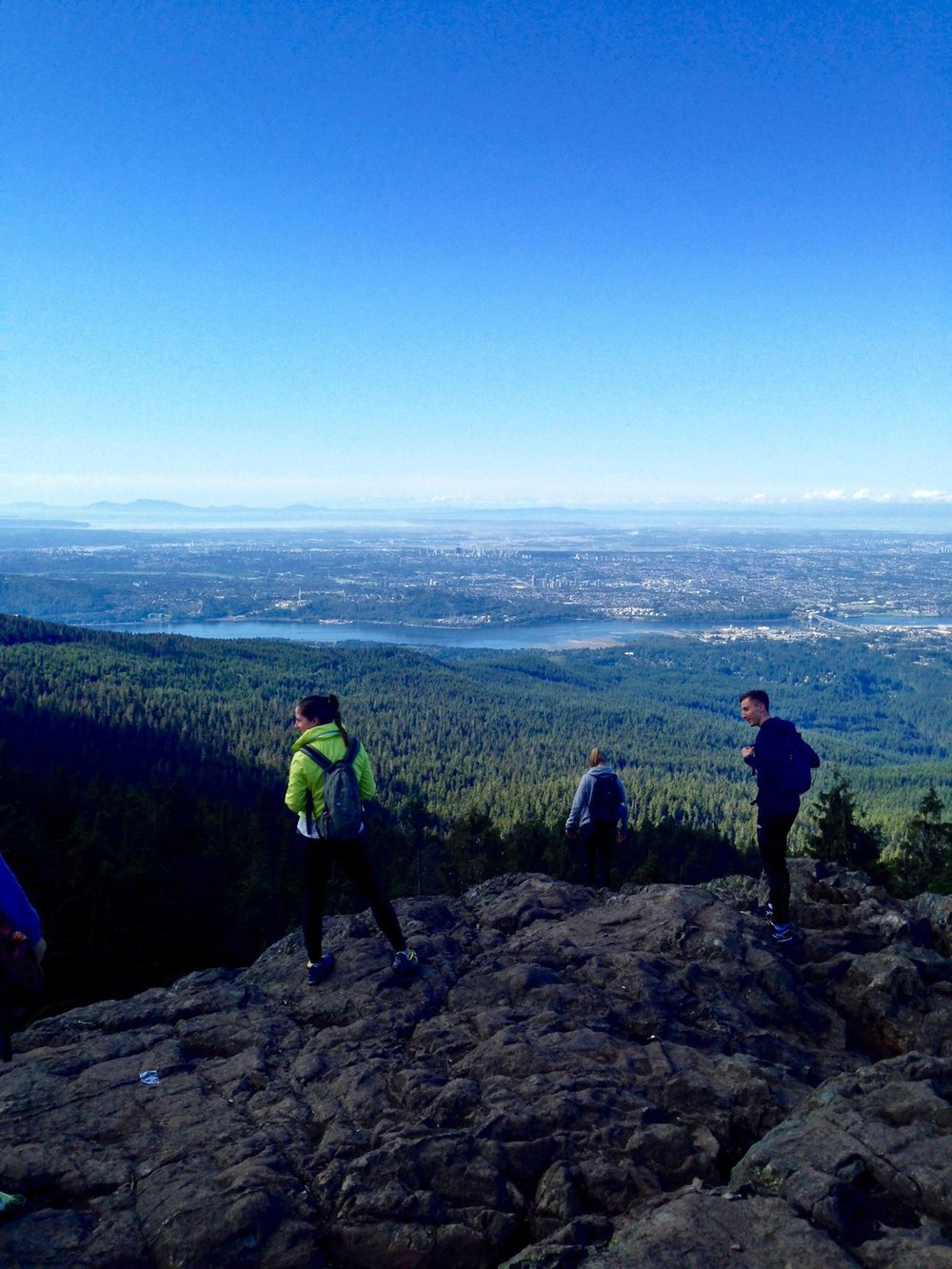 Gorgeous hike to Mt. Seymour, Fall 2016
