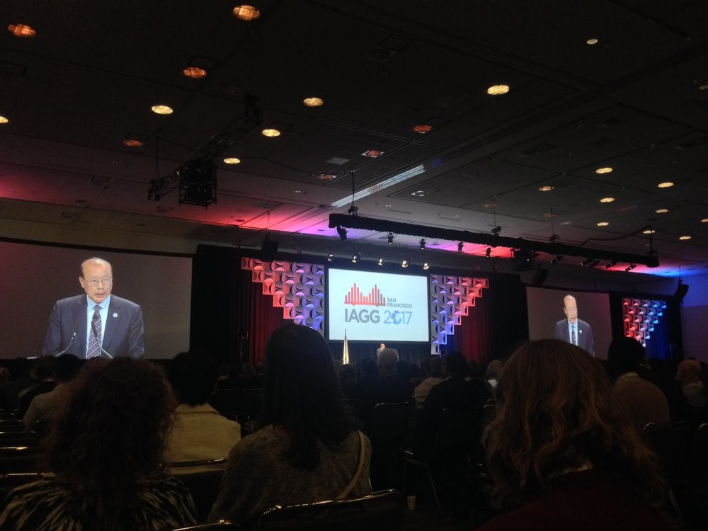 IAGG Conference 2017