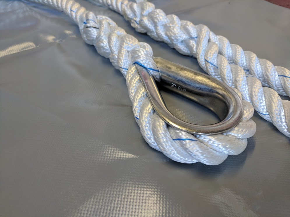 Rope Splicing - We can splice any construction of rope:Eye SplicesEnd to end SplicesRope to wire Splices Whipping and servingDecorative Rope