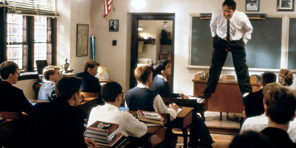 "As Keating asked in Dead Poets Society, are you ""sucking the marrow"" out of your corporate life?"