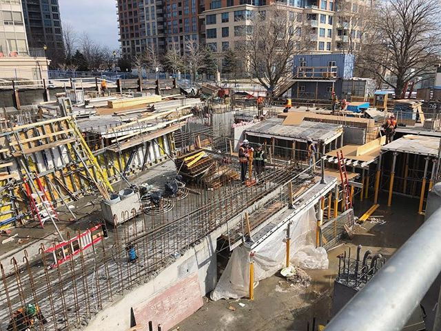 Level 4 ramp has been poured at our Dundas + Aukland site!