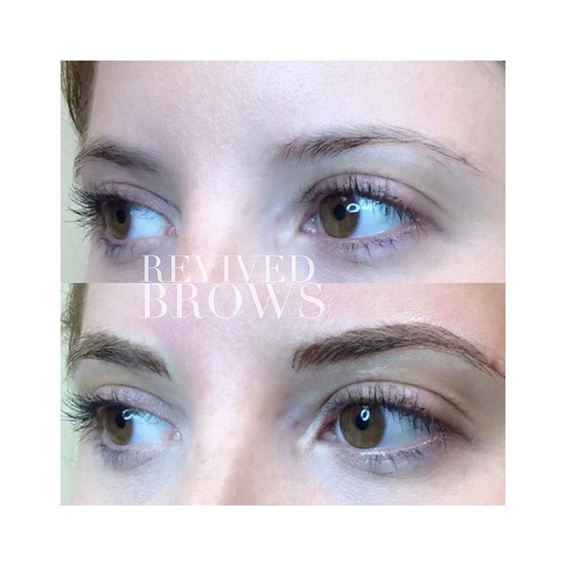 Soft natural look for this beauty! 😍 #revivedbrows #revivedaesthetics #revivedbrowsbyjenv #microbladingnurse #nurselife #microblading #eyebrows #brows #transformation #microbladingeyebrows #micropigmentation #pmubrows #eyedesign #eyedesignny beauty #art #browart #permanentmakeup #lovemyjob #semipermanentmakeup #browsfordays #browshaping #pmu #esthetics #browsfordays #pmuartist #greenvillemicroblading