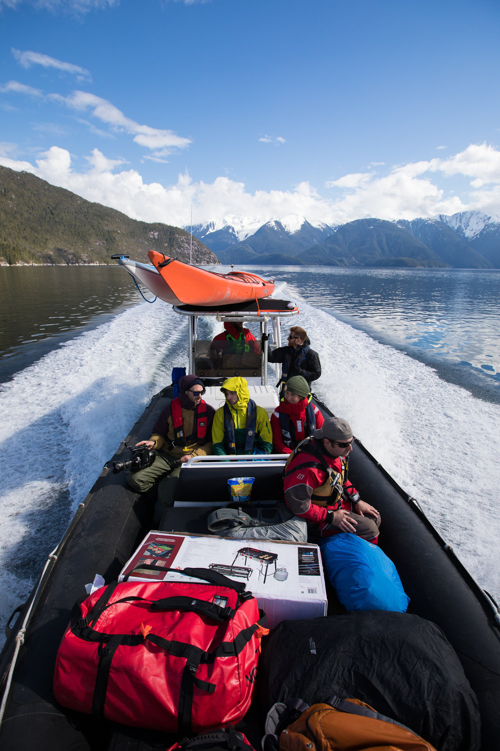 Custom Expeditions - Kayak