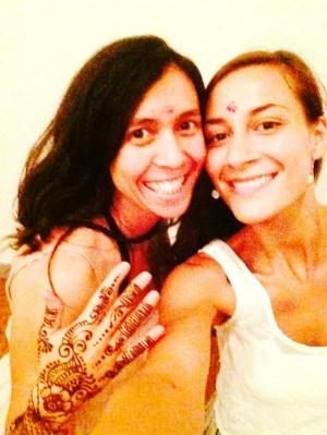 Sumukhi and Dakota Devi