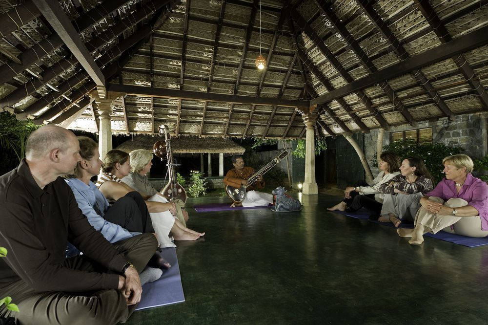 Outdoor Gazebo for Yoga and Mantra