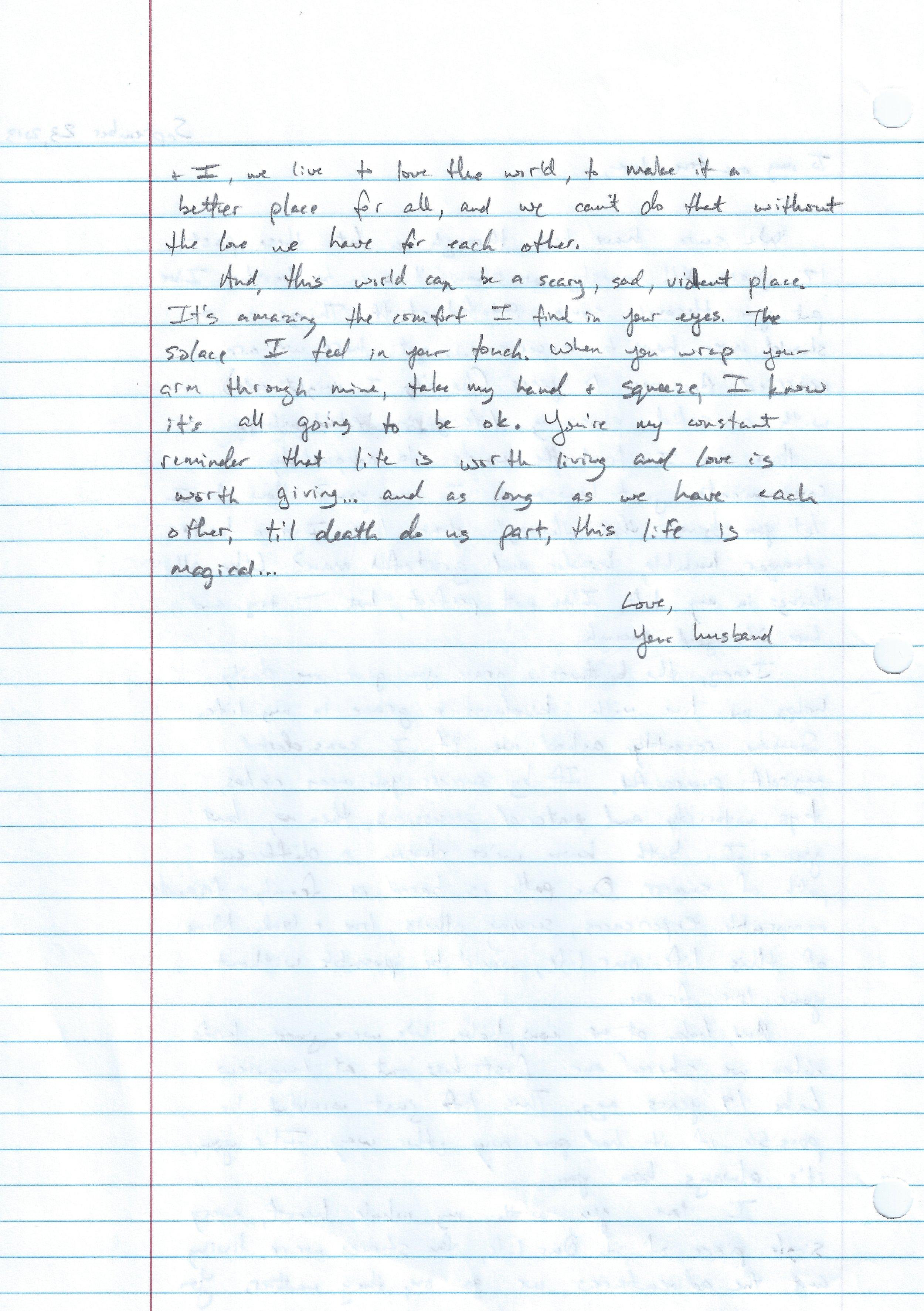 Love Letter #1 pt 2 | The Loveumentary