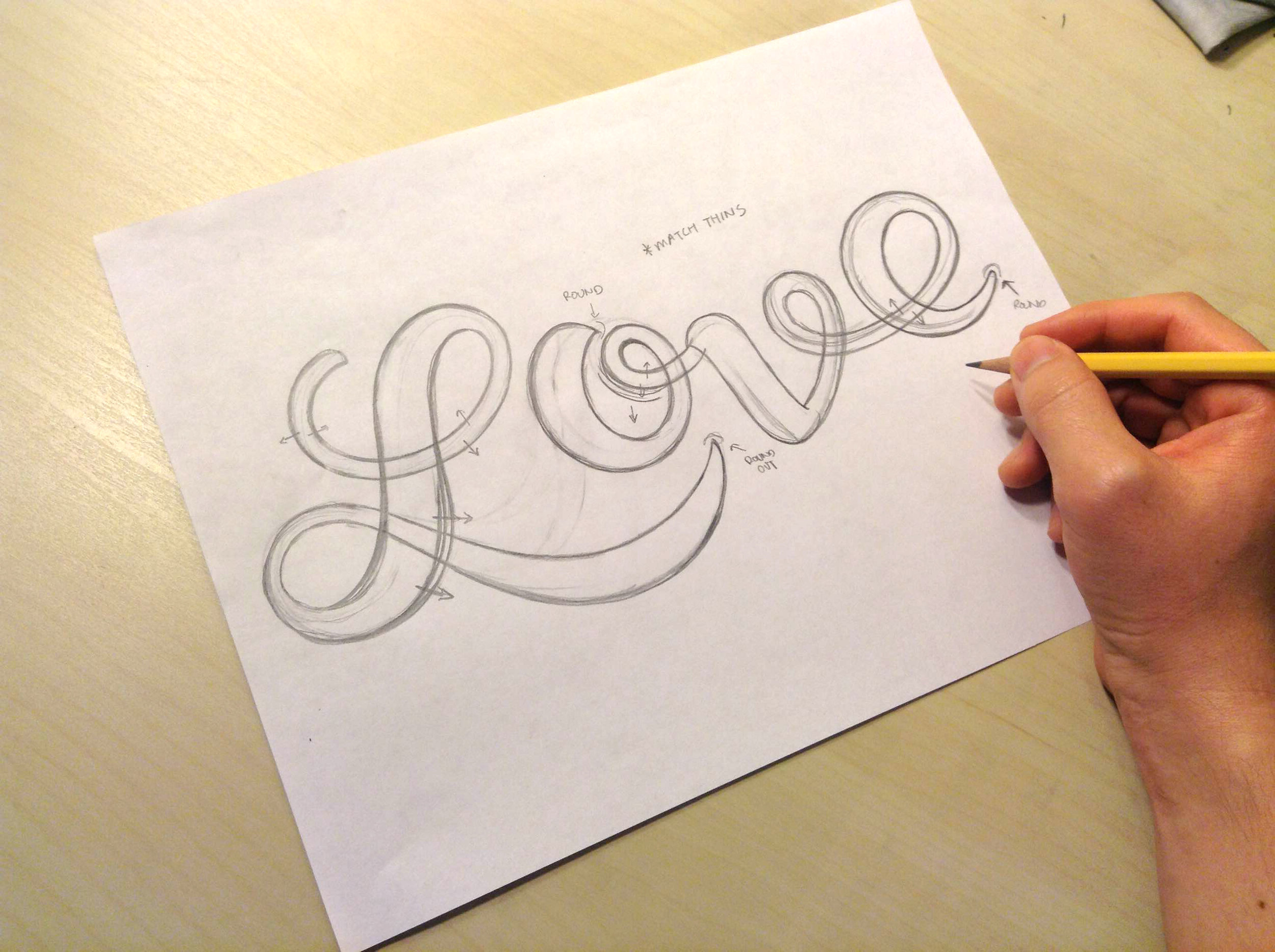 The Loveumentary Lettering Project