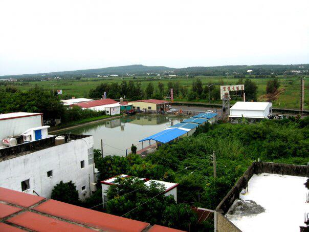 A view from FLG's apartment in Henchun.