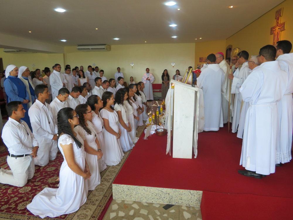 Benção de envio ao final da Santa Missa
