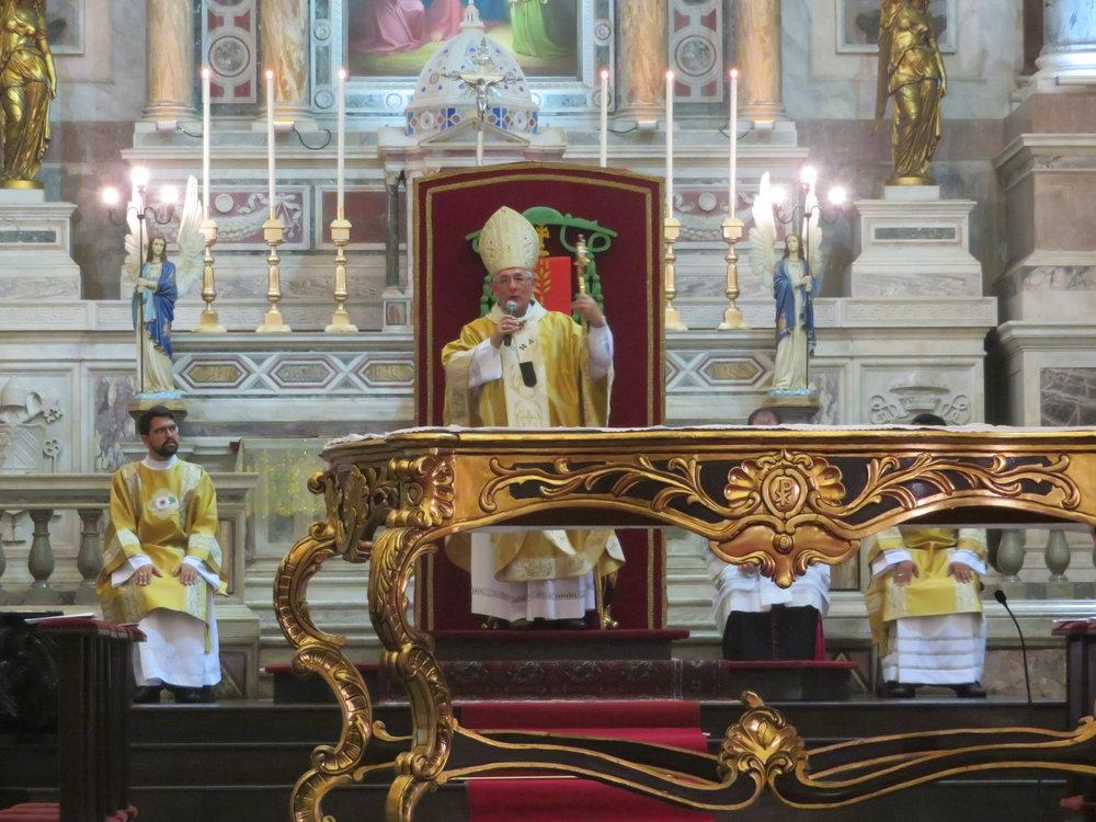 Homilia de Dom Alberto Taveira na missa de abertura do Retiro Nacional de Seminaristas 2018, na Sé Catedral da Arquidiocese de Belém