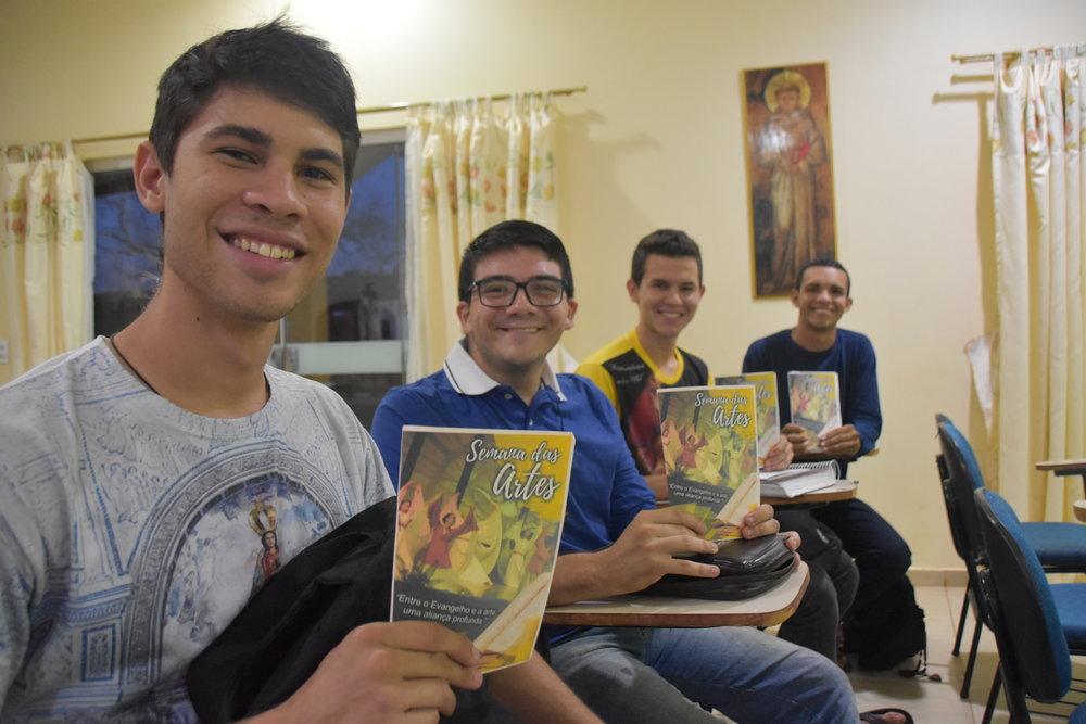 Programa formativo realizado durante as manhãs na Semana das Artes