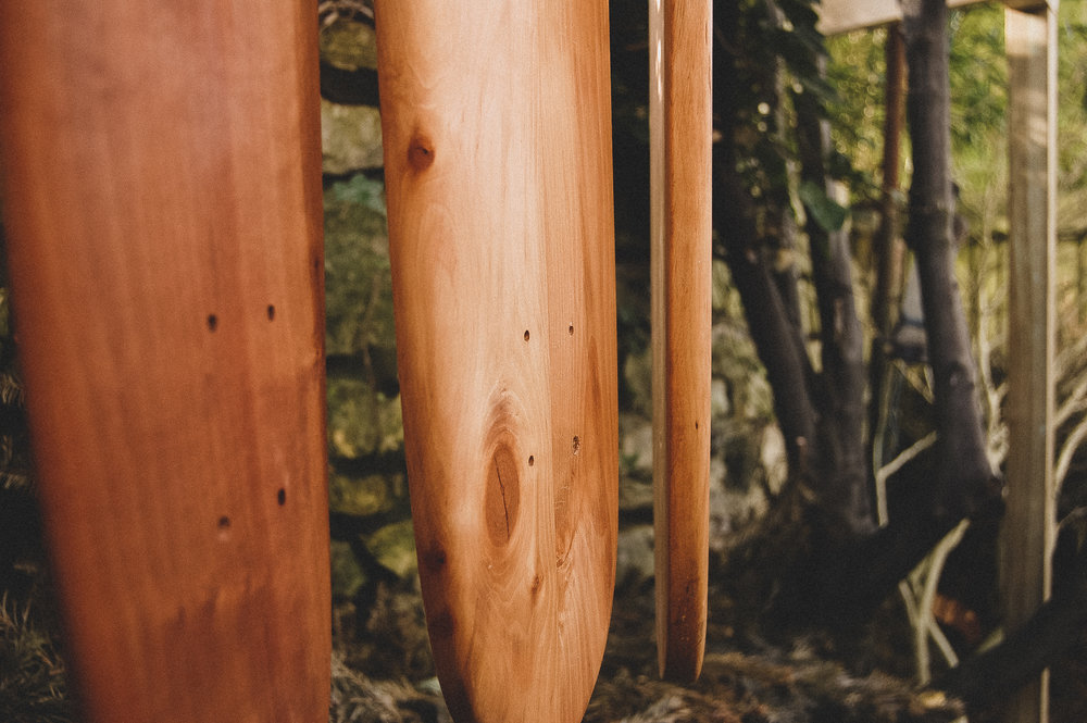 HANDMADE SKATEBOARDS  - FRIENDLY TO THE ENVIRONMENT