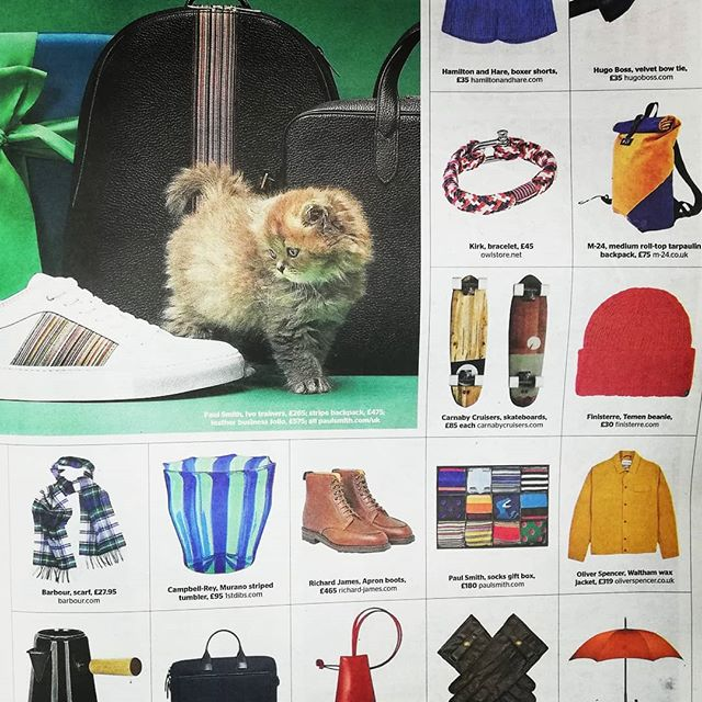 BREAKING NEWS  CC sneaks into well known national tabloid - Can you spot us!? - Get your hands on yesterday's copy of @thetimes or get online to find Carnaby Cruisers featured in the Christmas gift guide!!!! 📣🔔📰🗞️😎 Very exciting, thanks @rachael_dove for choosing us. Link in bio @carnabycruisers - Get your Christmas orders in for skateboards and t-shirts, only a few left! And remember we do bespoke boards so get in touch! . . . .  #thetimes #smallbusiness #handmade #christmas #cruisychristmas #cruising #skateboarding #longboard #longboarding #sustainable #ecofriendly #bignews #BREAKINGNEWS
