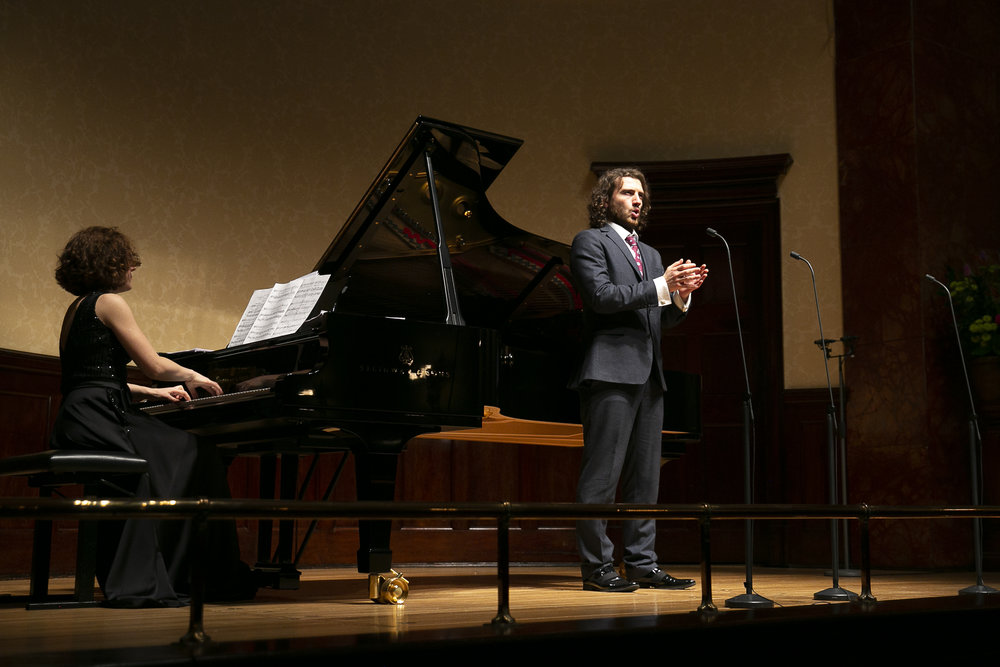 In recital at the Wigmore Hall with Nino Chokhonelidze, piano