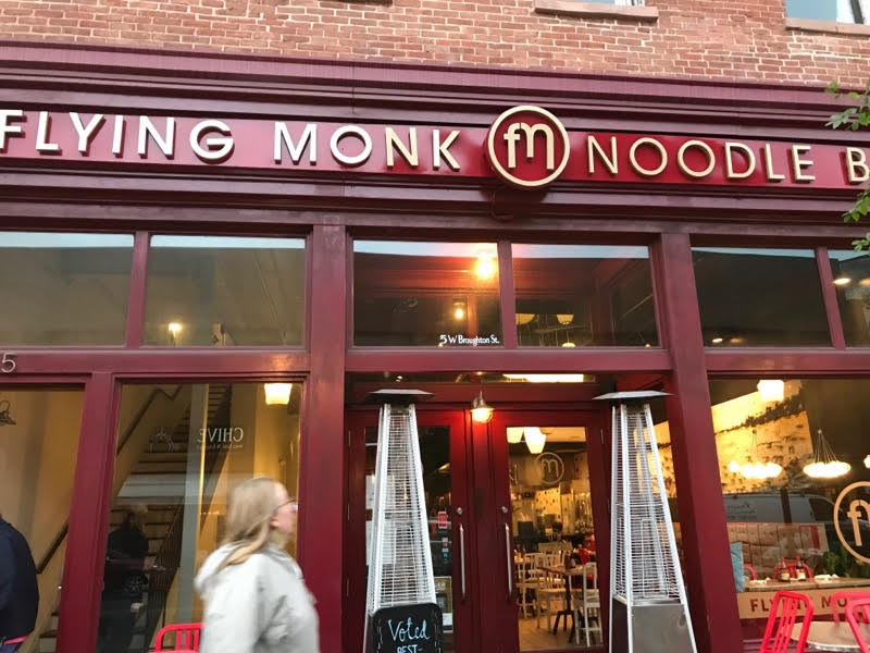 flying monk noodle bar