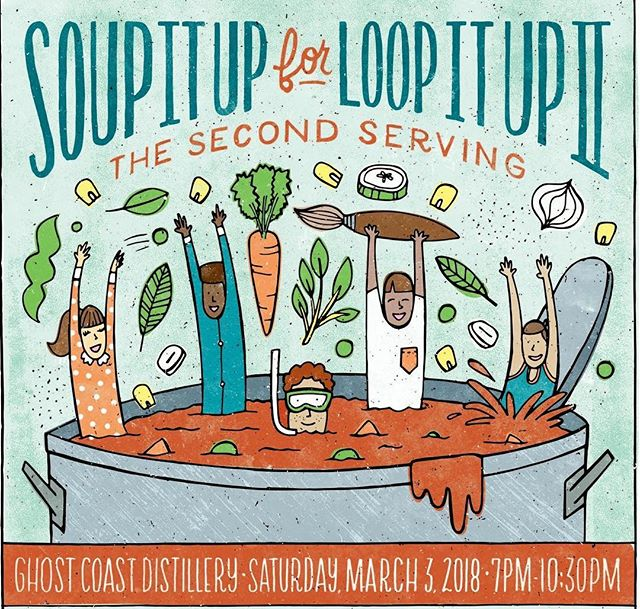 We are so excited to be participating in Soup It Up For Loop It Up, 2018 this year! We will be entering our @littleduckdiner Thai Tomato Soup in the contest and would love to see you there!  If you are unable to attend, you may show your support for Loop It Up Savannah by donating to this worthy cause via the link in our profile 👍🏻 #eleandthechef #littleduckdiner #supportlocal #localnonprofit #soupitup #loopitupsavannah  #markyourcalendars #savethedate #fundraiser #makeadifference #worthycause #kindnessmatters #letsdothis #savannahga #savannahgeorgia #savannah