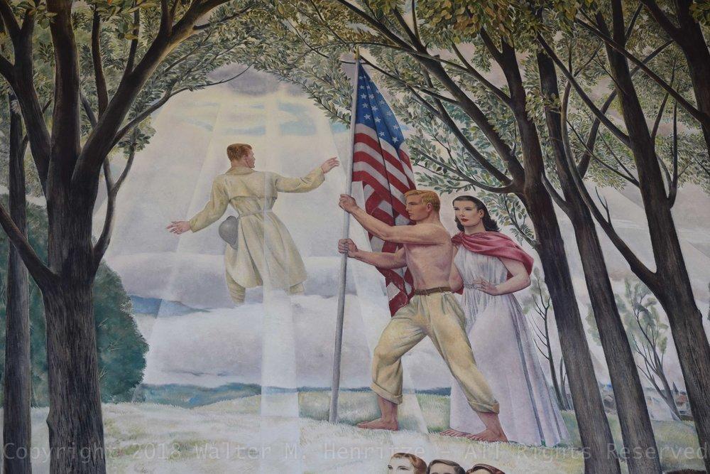 Detail: Center Mural