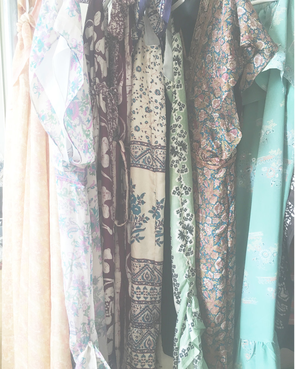 Collection - There is romantic ease to our collection.Each dress is voluminous with an easy flow for a one size fits most fitting.Made for the true bohemian, loving a lightness to her being
