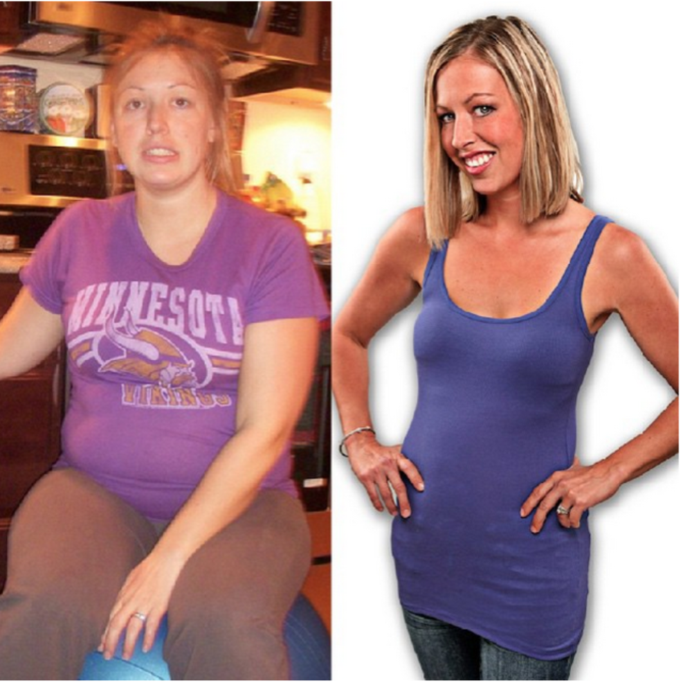 Nicole Brower before and after