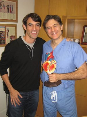 Jorge is a regular contributor to the Dr. Oz Show.