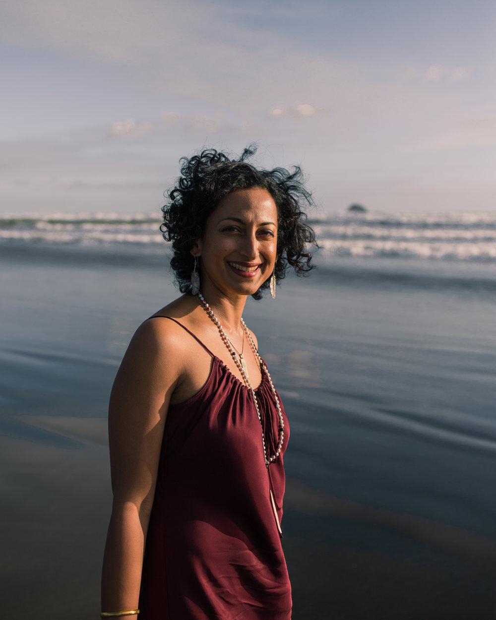 Dheepa Nedungat - Divine Feminine Mentor, Artist & Mother; Auckland, New Zealand