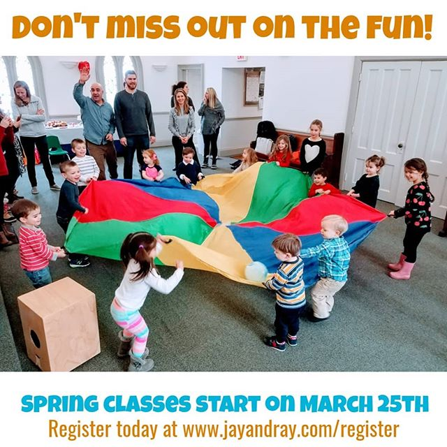 Spring is in the air and we cant wait to start the new session on March 25th! Some classes are already full so make sure to sign up today if there's a time you want. www.jayandray.com/register#registration . . . . #jayandray #greenwichmoms #darienmoms #newcanaanmoms #norwalkmoms #stamfordmoms #fairfieldmoms #mommyandme #daddyandme #kidsmusicclass #babymusicclass #babiesrock #stamfordct #greenwichct #darienct #newcanaanct #fairfieldct #fairfieldcounty #fairfieldcountykids #heystamford