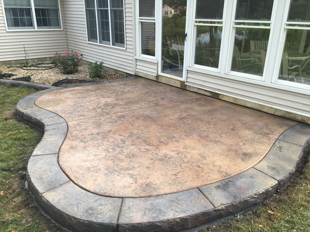 Small Concrete Slab