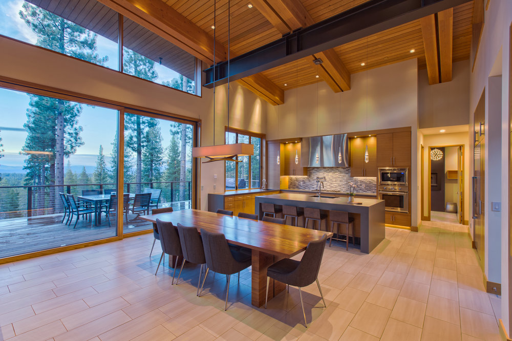 A Modern, Clean, And Minimalist Design Located In The Luxurious Private  Gated Community Of Martis Camp In Truckee, California. This Mountain Modern  Home ...