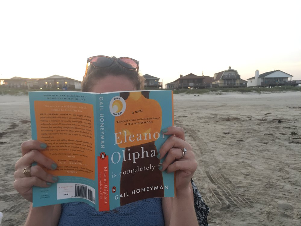 My beach book choice was  Eleanor Oliphant is Completely Fine and it was so good!