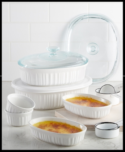 I love these simple and classic Corningware dishes!