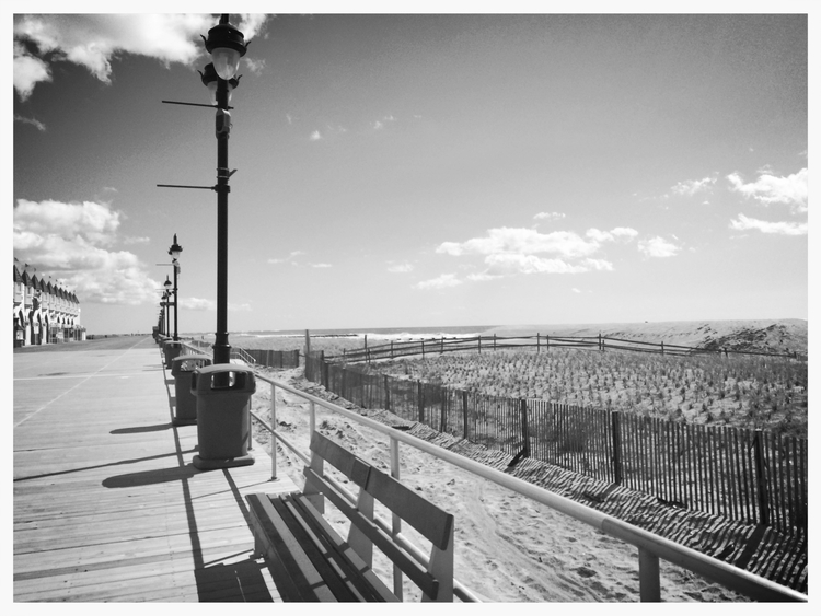 One of Mom (and Dad's) favorite places, the beach in Ocean City, NJ. She might not remember it by name, but I really hope she remembers being there and how it feels like some part of Dad is in the dunes or when you walk near the water.