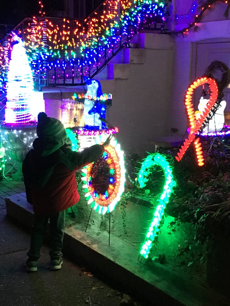 """""""Mama, why are the neighbor's lights so cool and ours aren't?'"""