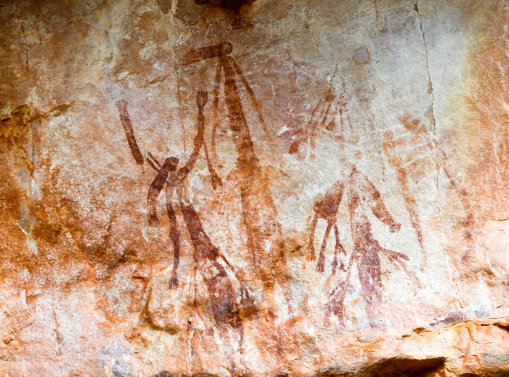 Bradshaw rock art, Manning Gorge