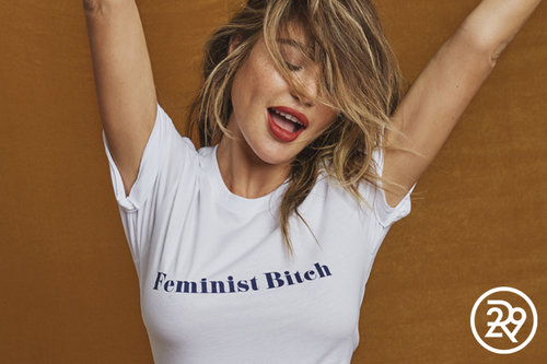 REFINERY 29 - HERE'S ALL THE UNAPLOGETIC FEMINIST MERCH YOU'VE BEEN LOOKING FOR