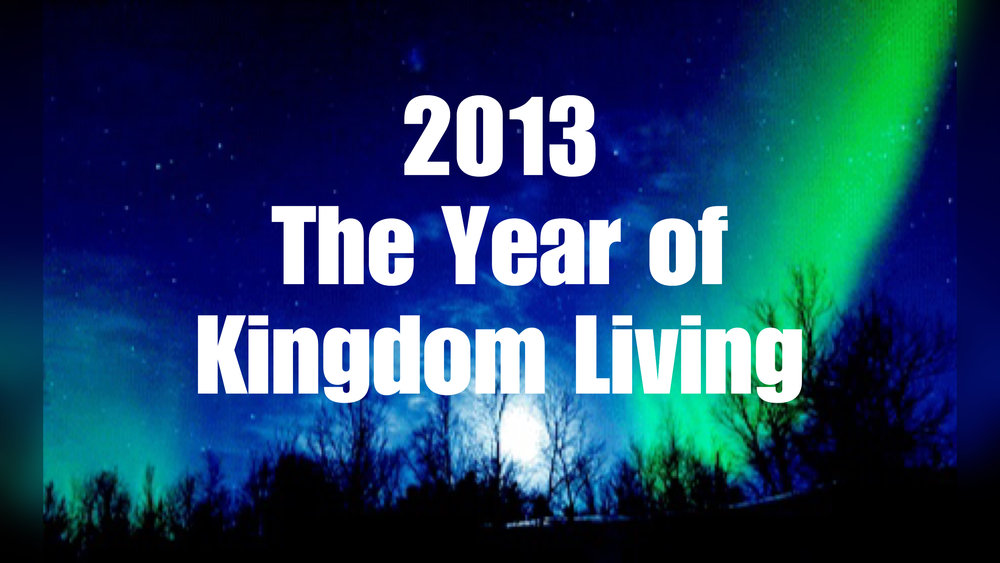 2013- Weekly Sermon Notes