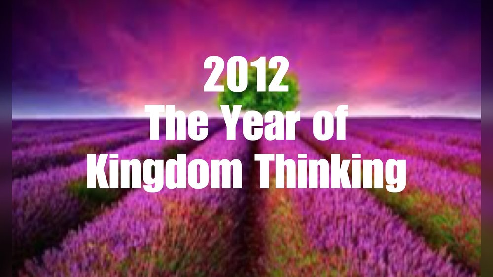 2012- Weekly Sermon Notes