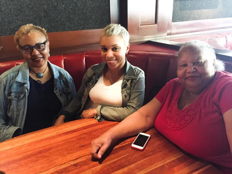 (Me with my Mom and Grandma)