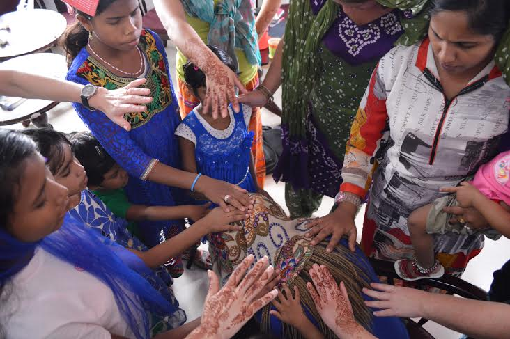 (I still believe the prayers of these beautiful Indian children from Asha House)
