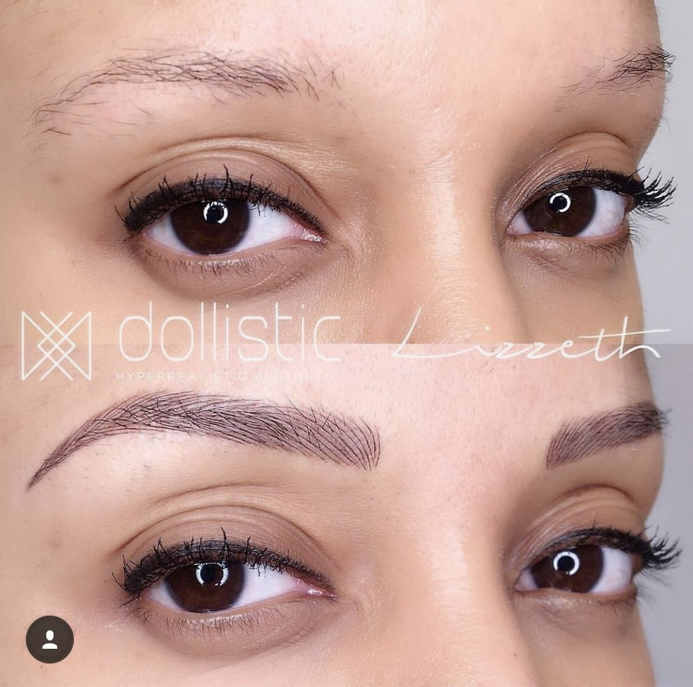 Before and After! Struggle Brows vs, Brows on Fleek (do we still say that? LOL)