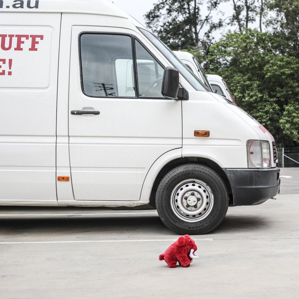 Complimentary Storage Van -