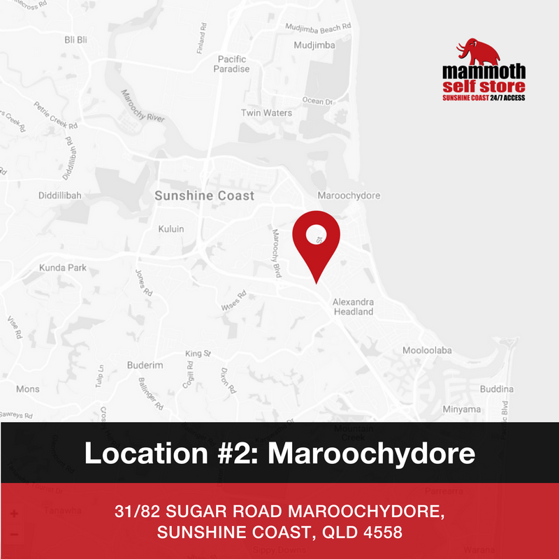 Mammoth Self Store - Maroochydore