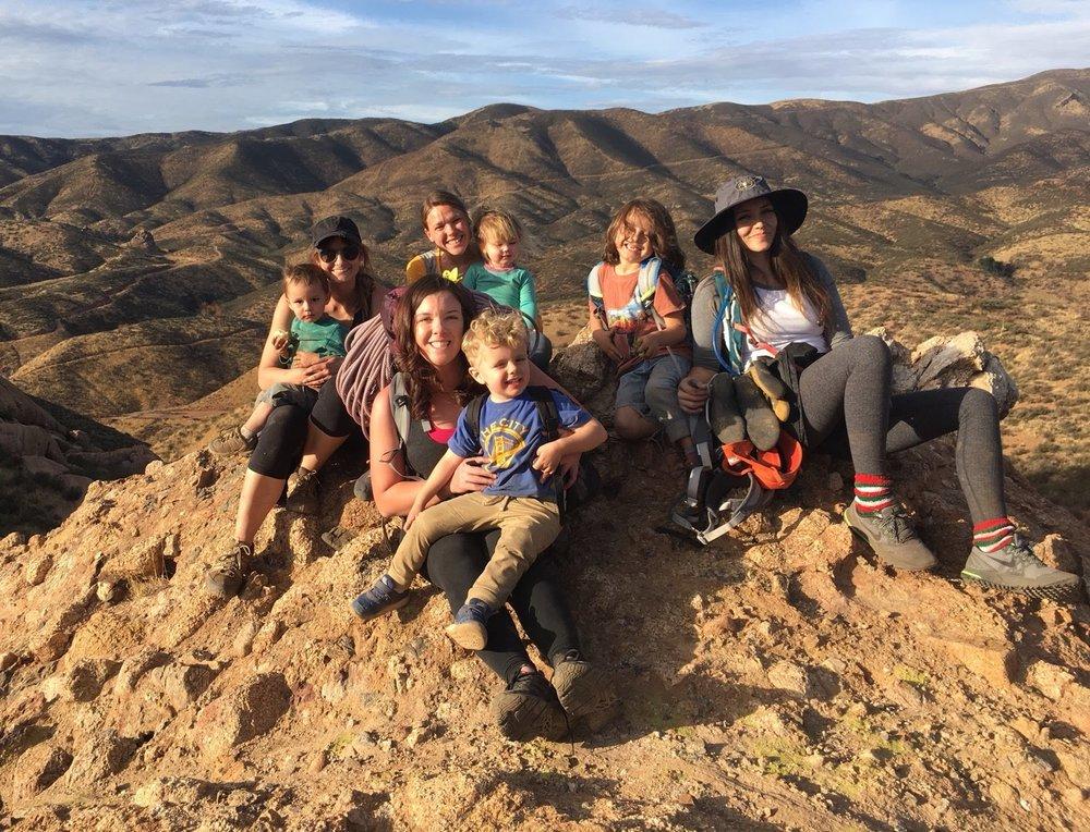 Moms Climb